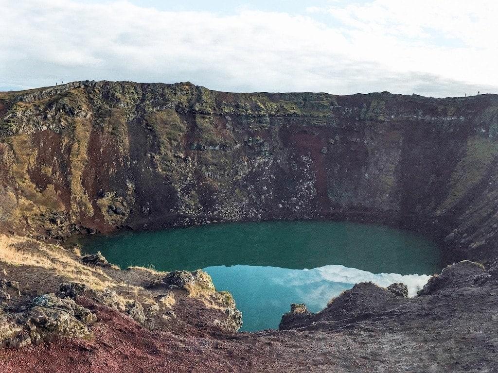 Day trips from Reykjavik- Kerid Crater Lake