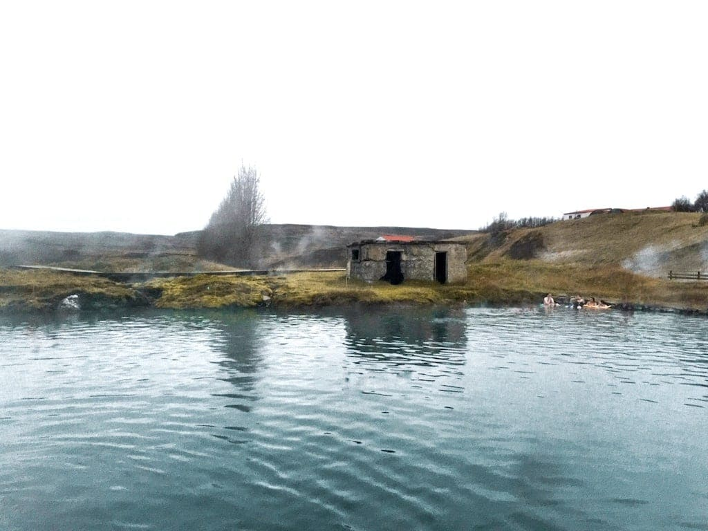 Secret Lagoon, located along Iceland's Golden Circle