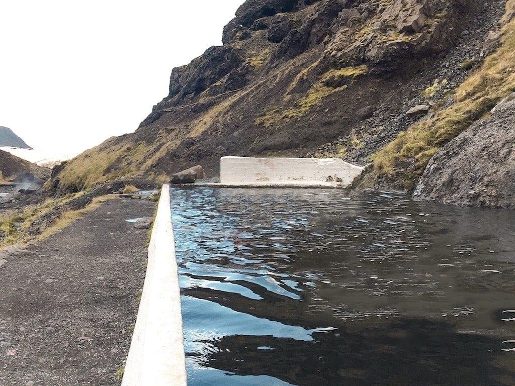 Iceland's Ring Road: Seljavallalaug pool