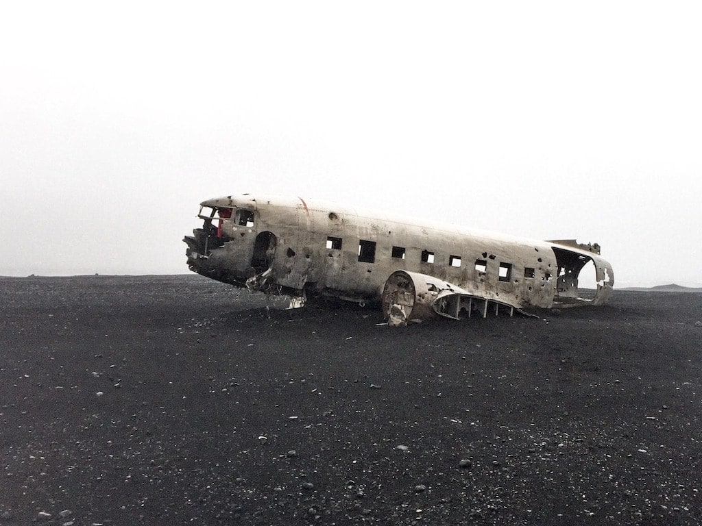 Solheimasandur plane crash site near Vik, Icleand
