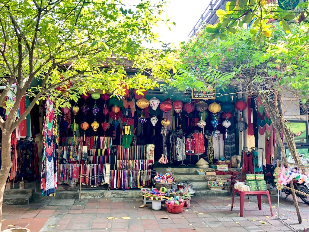 Shopping in Hoi An Ancient Town Vietnam