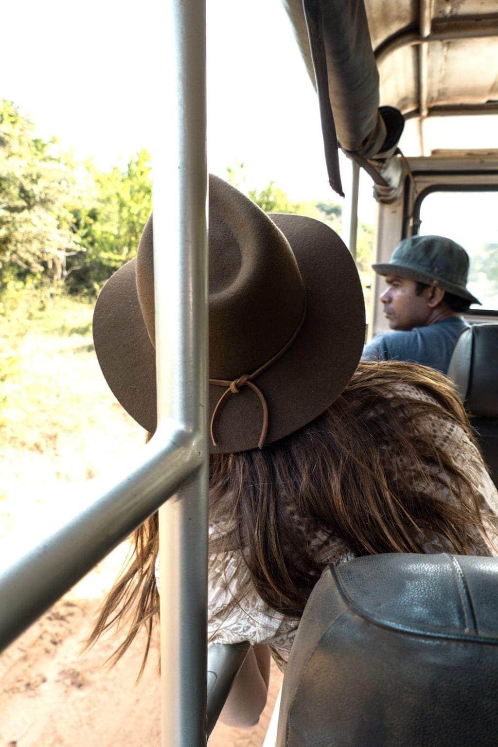 Lakpura safari guide in Sri Lanka